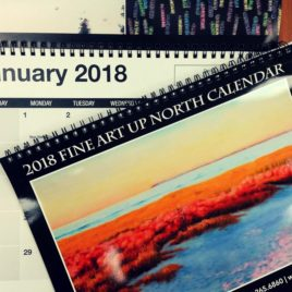 2018 Fine Art Up North Calendar
